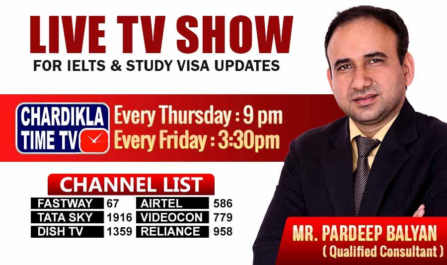 CHARDIKLA Time TV SHOW - Western Overseas