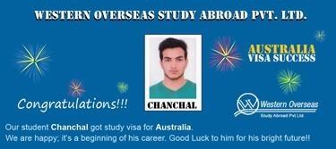 Chanchal Australia Visa Success