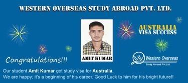 Amit kumar Australia Visa