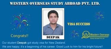 Deepak New Zealand Visa Success