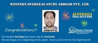 Amritpal Australia Visa