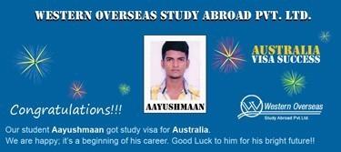 Aayushmaan Australia Visa