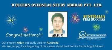 Arjun Australia Visa Success