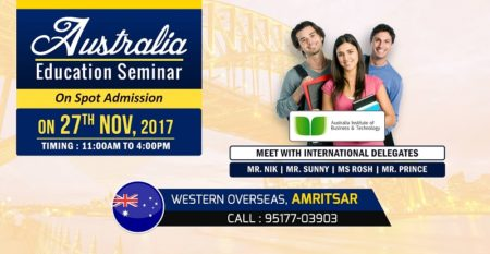 Australia Education Seminar Amritsar