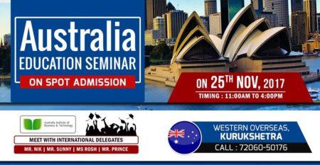 Australia Education Seminar Kurukshetra