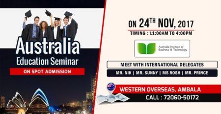 Australia Seminar Ambala