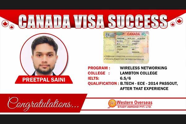 Preetpal Canada Visa