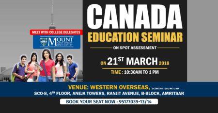 Canada Seminar Amritsar