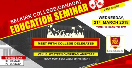 Selkirk College Canada Seminar