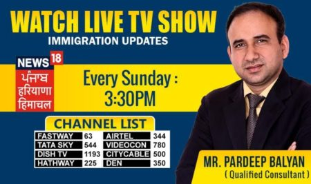 Live at News 18 Punjab – Every Sunday