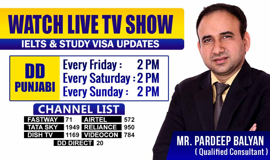 dd punjabi channel tv show western overseas