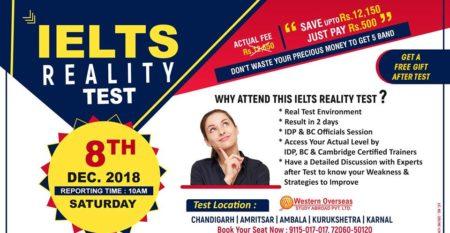 IELTS Reality Test