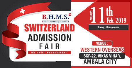 Switzerland Admission Fair