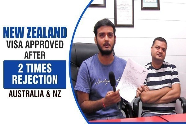 Aman Kumar New Zealand Visa 2 Times Refused CHD