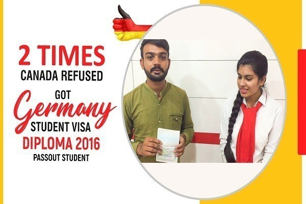 Ankit Germany Visa 2 Times Canada Refused Diploma 2016 Passout KKR