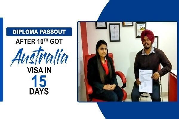 Anmol Australia Visa Diploma Passout Jalandhar Branch