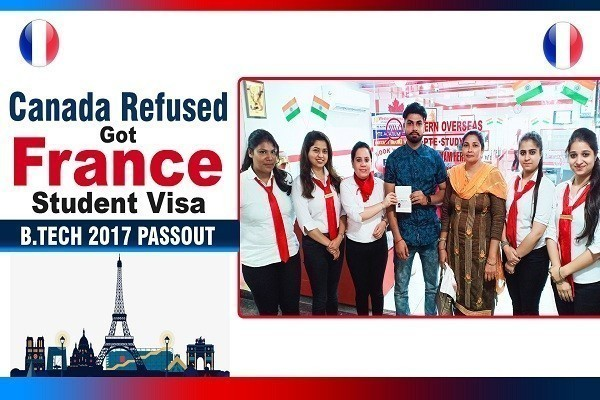 Aslam France Visa 1 Time Canada Refused Btech 2017 Passout Jalandhar Branch