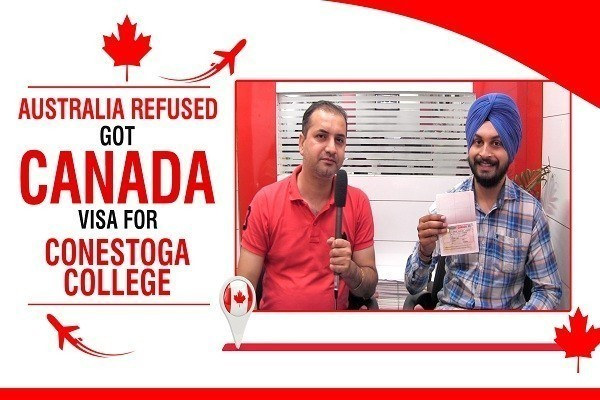 Davinder Singh Canada Visa 1 time australia refused CHD