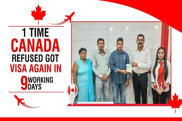 Dhruv Bhardwj Canada Visa 1 Time Canada Refused KKR