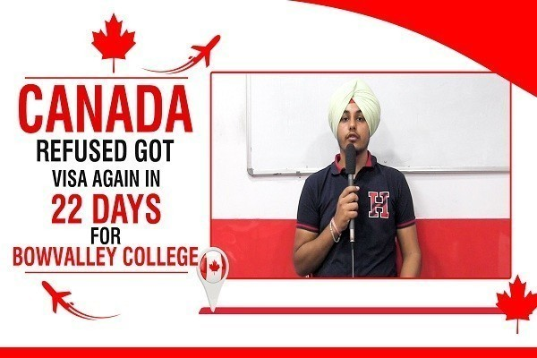 Eknoor Sidhu Canada Visa 1 Time Canada Refused CHD