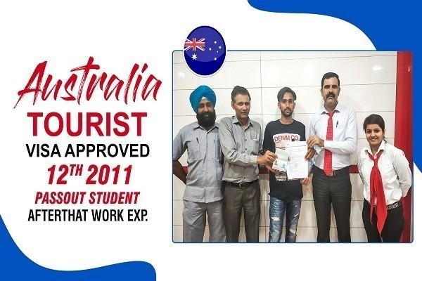 Gurpreet Australia Tourist Visa Approved KKR