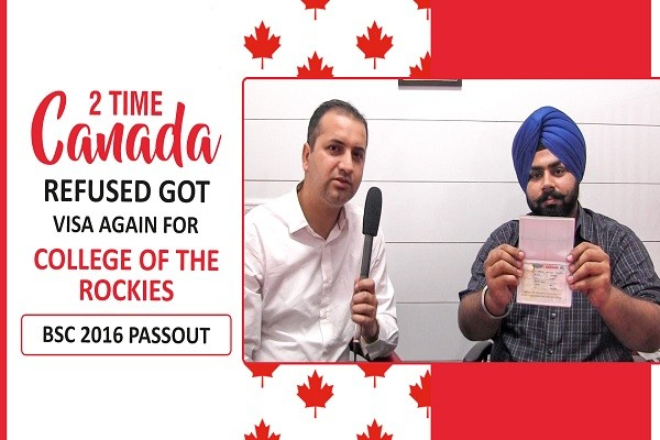 Harjot Bhullar Canada Visa 2 Time Refused 2016 Passout CHD