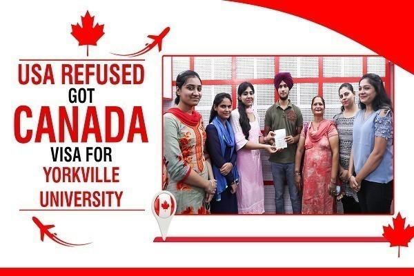 Harman Singh Canada Visa 1 Time USA Refused