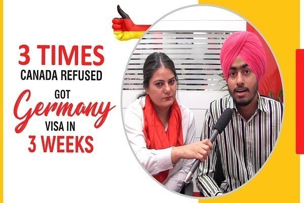 Harmanpreet Singh Germany Visa 3 Times Canada Refused CHD