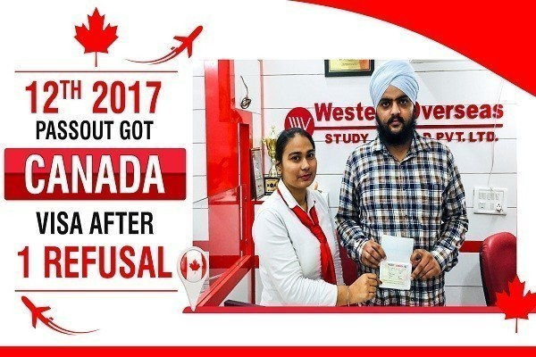 Harpal Singh Canada Visa 12th 2017 Passout 1 Time Canada Refused Karnal
