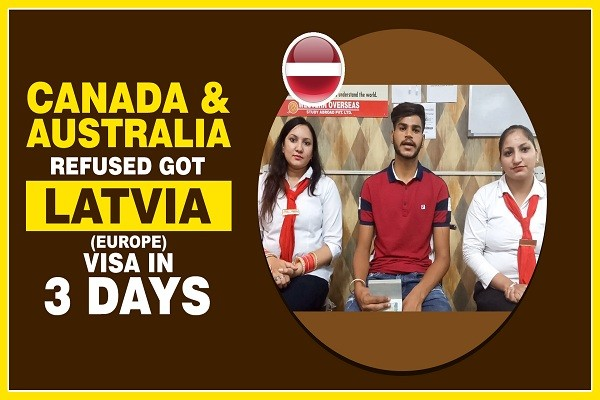 Harshotam Singh Latvia Visa 1 time canada & 1 time australia refused Amritsar Branch
