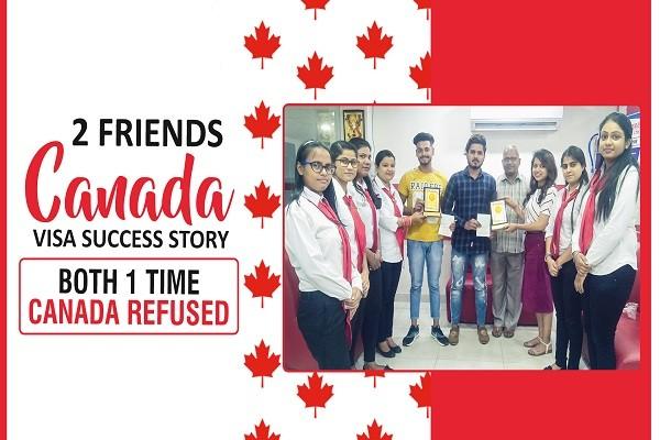 Himanshu & Devendeep Canada Visa 1 Time Refused Same college & course Jalandhar Branch
