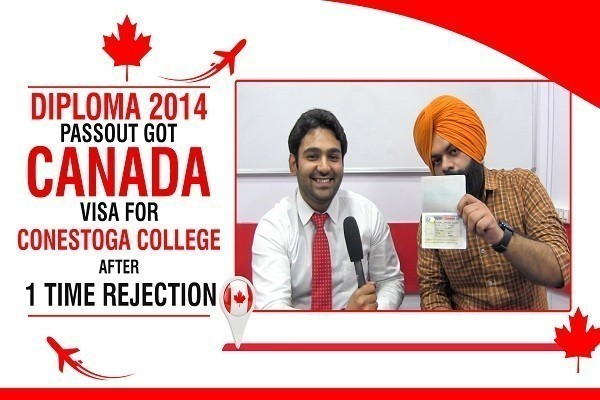 Ishtjot Singh Canada Visa 1 Time Canada refused & Diploma 2014 Passout CHD