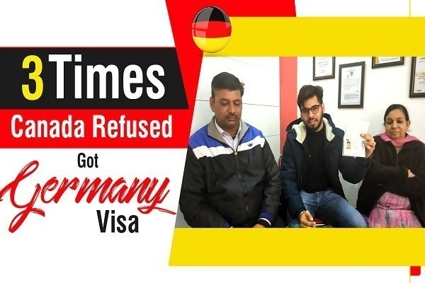 Karanvir Germany Visa 3 Times Canada Refused youtube Jalandhar Branch