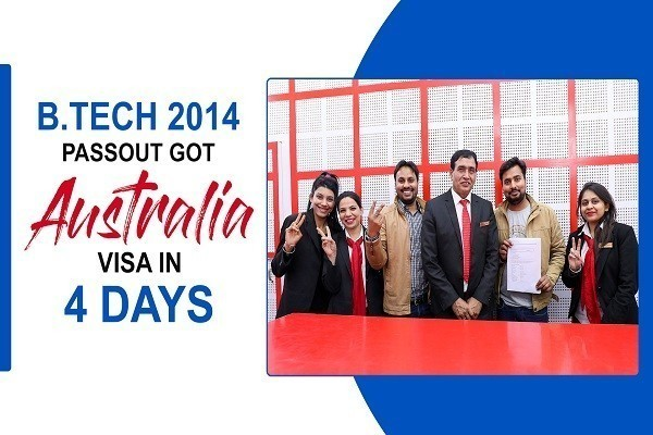 Kuldeep Singh Australia Visa in 4 Days 2014 Btech passout