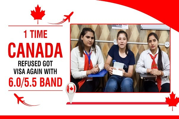 Malveen Kaur Canada Visa 1 Time Canada Refused 6 ntl 5.5 Band Amritsar
