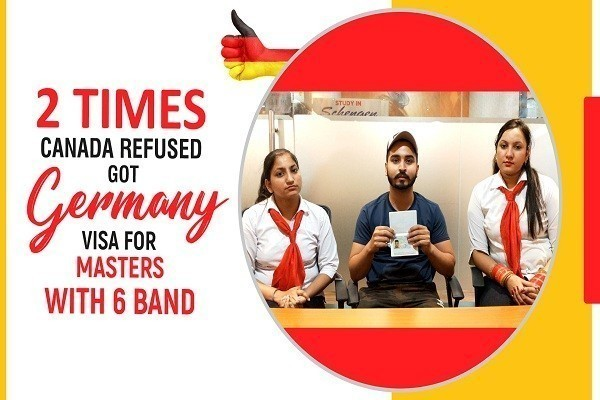 Manik Sharma Germany visa 2 times canada refused visa in 20 days Amritsar branch
