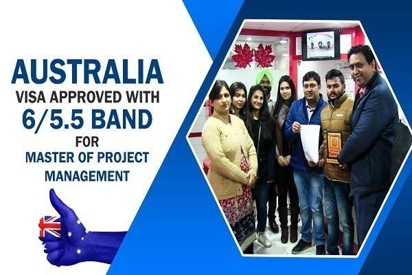 Manish Jaiswal Australia Visa in 14 Days CHD