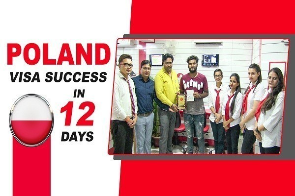 Parminder Singh Poland Visa in 12 Days