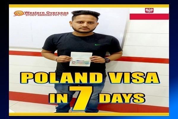 Poland visa in 7 Days