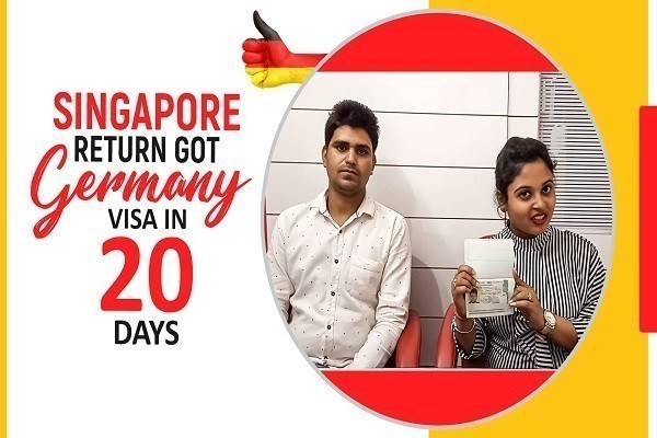Pradeep Kumar Singapore Return got Germany Visa in 20 Days Karnal