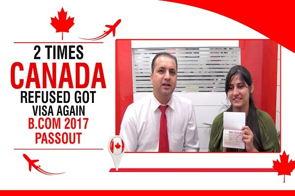 Priyanka Canada Visa 2 Tmes Refused Bcom 2017 Passout CHD