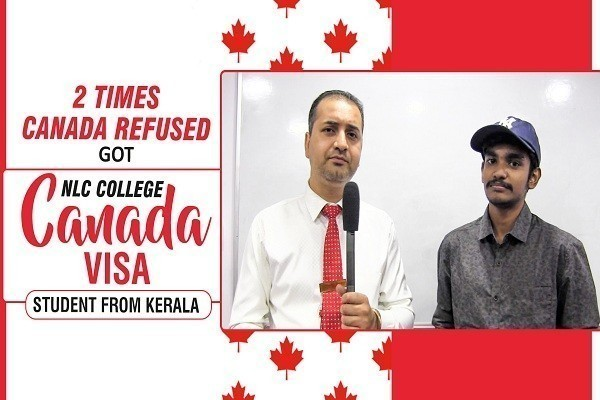 Rahul Joy Canada Visa 2 Times Canada Refused student from kerela CHD