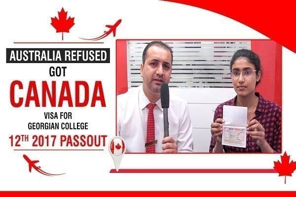 Ramandeep Kaur Canada Visa 1 Time Australia Refused 12th 2017 Passout CHD