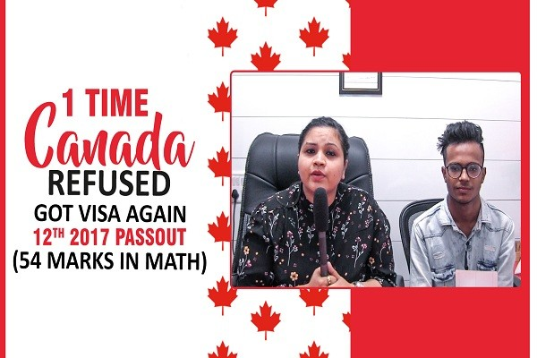 Ravinder Canada Visa 1 time canada refused 12th 2017 Math 54 CHD