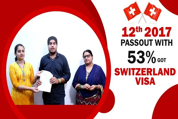 Robin Switzerland Visa for BHMS 12th 2017 with 53 percent