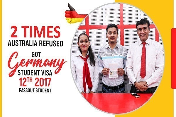 Sachin 2 Times Australia Refused 12th 2017 Passout Germany Visa in 25 Days