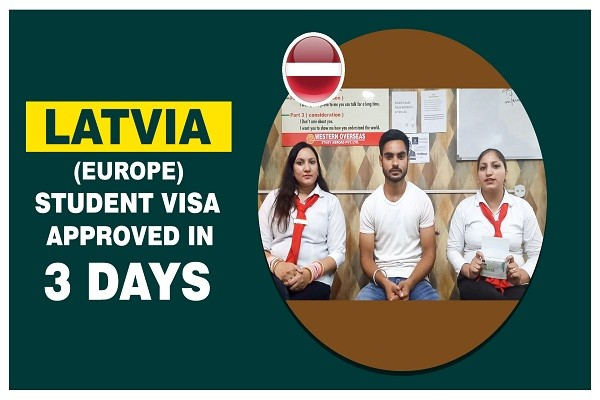 Tanveer Singh Latvia Visa in 3 Days Amritsar Branch