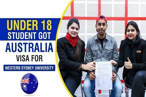 Varun Australia Visa of Under 18 Student