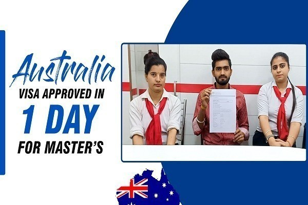 Vinkal Australia Visa Approved in 1 Day Jalandhar Branch